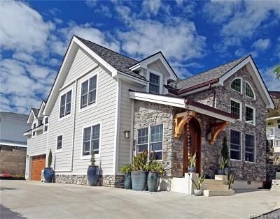 Single Family Home For Sale: 4028a Keanu Street