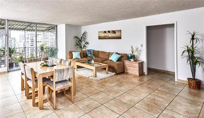 Honolulu Condo/Townhouse In Escrow Showing: 222 Liliuokalani Avenue #PH3