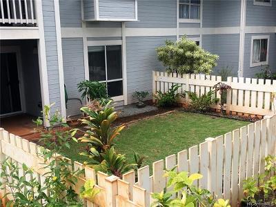 Waipahu Condo/Townhouse For Sale: 94-227 Paioa Place #B103