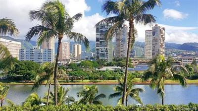 Honolulu Condo/Townhouse For Sale: 2121 Ala Wai Boulevard #705