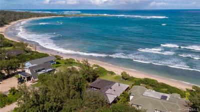 Kahuku Single Family Home For Sale: 56-155b Kamehameha Highway
