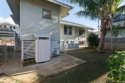 Honolulu Single Family Home For Sale: 1122a 2nd Avenue