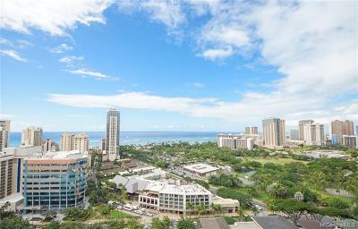 Central Oahu, Diamond Head, Ewa Plain, Hawaii Kai, Honolulu County, Kailua, Kaneohe, Leeward Coast, Makakilo, Metro Oahu, N. Kona, North Shore, Pearl City, Waipahu Condo/Townhouse For Sale: 2120 Lauula Street #2405