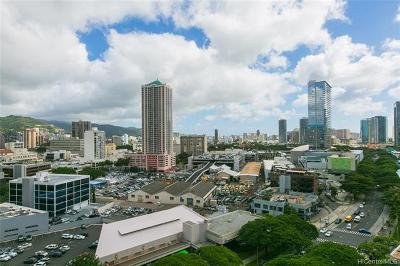 Honolulu Condo/Townhouse For Sale: 801 South Street #1828