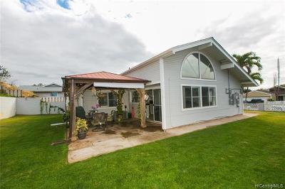 kapolei Single Family Home For Sale: 92-104 Ulele Place