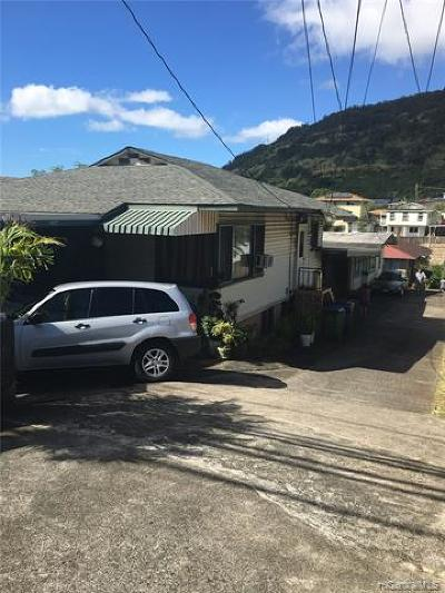 Honolulu Single Family Home For Sale: 2668 Kalihi Street