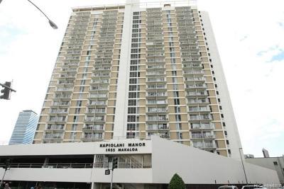 Honolulu HI Condo/Townhouse For Sale: $315,000