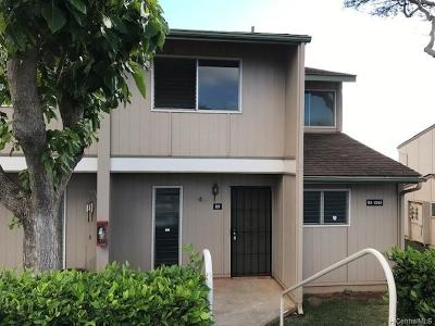 Kapolei Condo/Townhouse For Sale: 92-1045 Makakilo Drive #89