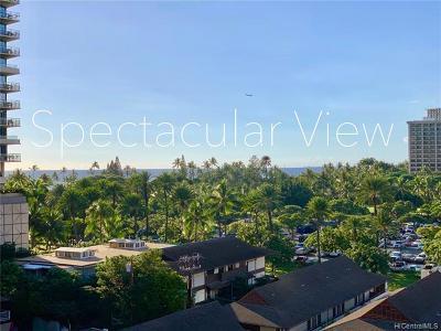 Honolulu Condo/Townhouse For Sale: 255 Beach Walk #84