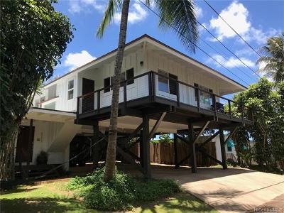 Haleiwa Single Family Home For Sale: 59-625 Ke Iki Road