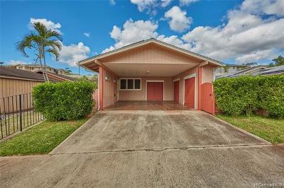 Waipahu Single Family Home For Sale: 94-621 Kupuna Loop