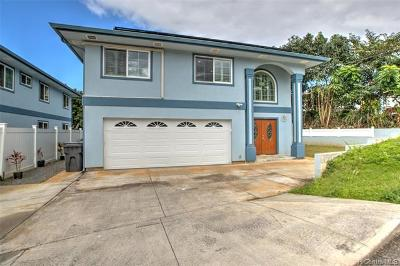 Kaneohe Single Family Home For Sale: 45-509 Kolokio Street #B