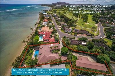 Diamond Head, Ewa Plain, Hawaii Kai, Honolulu County, Kailua, Kaneohe, Leeward Coast, Makakilo, Metro Oahu, North Shore, Pearl City Single Family Home For Sale: 1105 Kaimoku Place