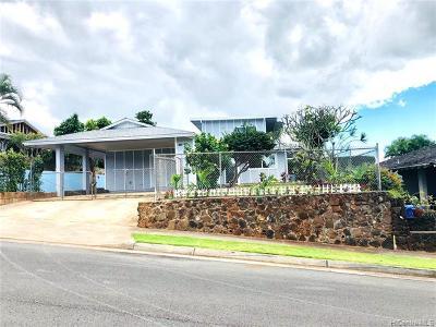 Aiea Single Family Home For Sale: 98-553 Puaalii Place