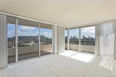 Honolulu Condo/Townhouse For Sale: 2825 S King Street #1601