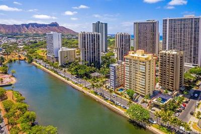 Honolulu Condo/Townhouse For Sale: 2533 Ala Wai Boulevard #401