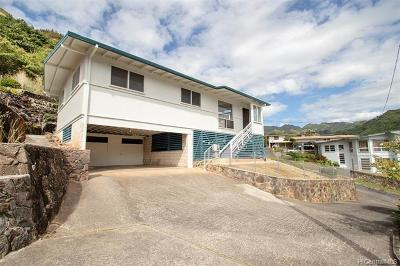 Single Family Home In Escrow Showing: 2177 Kaululoa Place