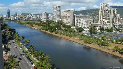 Honolulu Condo/Townhouse For Sale: 2211 Ala Wai Boulevard #1711