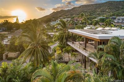 Honolulu Single Family Home For Sale: 3927 Kahala Avenue