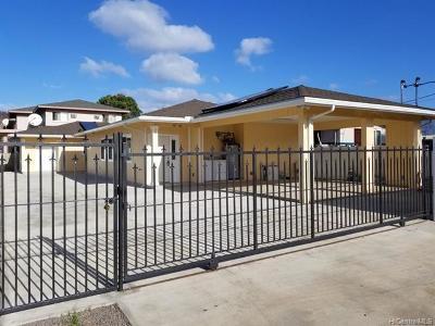 Waianae Single Family Home For Sale: 87-120 Kahau Street