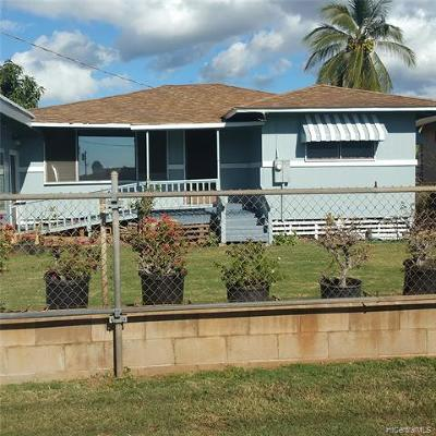 Waianae Single Family Home For Sale: 87-918 Hakeakea Street