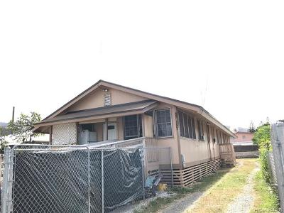 Waianae Multi Family Home For Sale: 87-157 Homestead Road