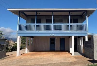 Honolulu County Single Family Home For Sale: 2248 Anapanapa Street