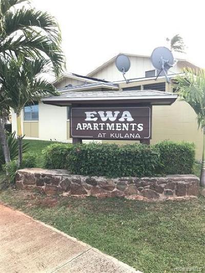 Ewa Beach Condo/Townhouse For Sale: 91-553 Kuilioloa Place #OO2