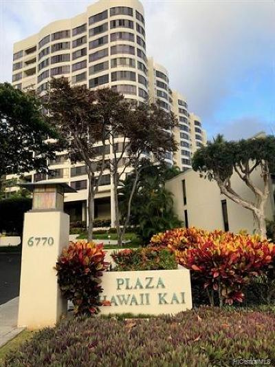 Condo/Townhouse For Sale: 6770 Hawaii Kai Drive #402