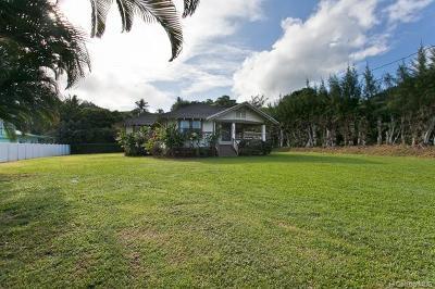 Single Family Home For Sale: 54-136 Kawaipuna Street