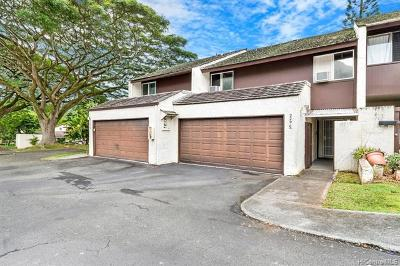 Kaneohe Condo/Townhouse For Sale: 47-229c Hui Akikiki Place #C