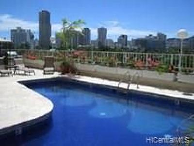 Honolulu Condo/Townhouse For Sale: 1850 Ala Moana Boulevard #721