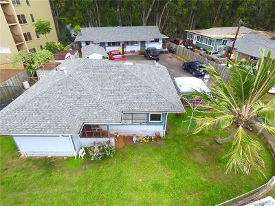 Wahiawa Multi Family Home For Sale: 104 Lakeview Circle #A