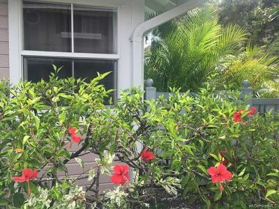 Honolulu County Condo/Townhouse For Sale: 7122 Hawaii Kai Drive #93
