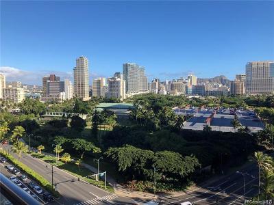 Honolulu, Kailua, Waimanalo, Honolulu, Kaneohe Rental For Rent: 1860 Ala Moana Boulevard #1308