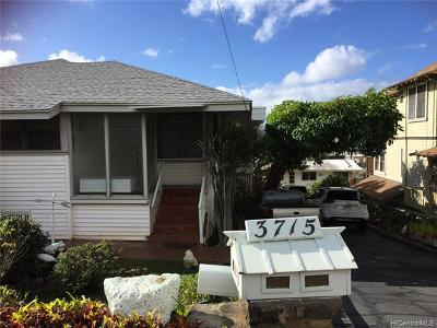 Honolulu, Kailua, Waimanalo, Honolulu, Kaneohe Rental For Rent: 3715 Sierra Drive