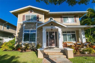 Ewa Beach Single Family Home For Sale: 91-1020 Kaiamaloo Street