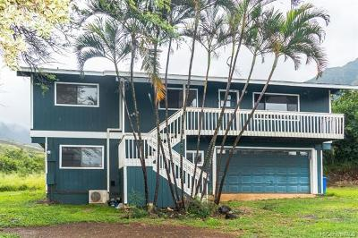 Single Family Home For Sale: 84-1046 Maunaolu Street