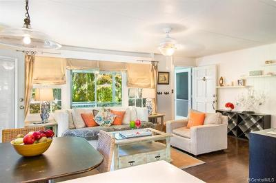 Haleiwa Single Family Home For Sale: 59-638 Kamehameha Highway #A