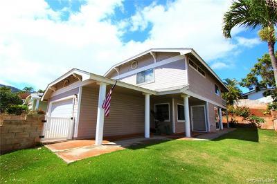 Single Family Home For Sale: 92-1345 Kikaha Street