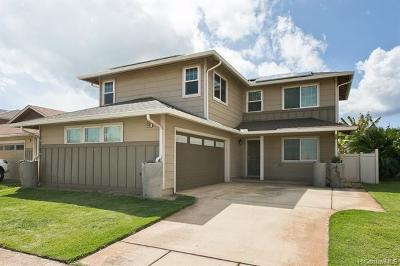 Kapolei Single Family Home For Sale: 91-1312 Kekahili Street