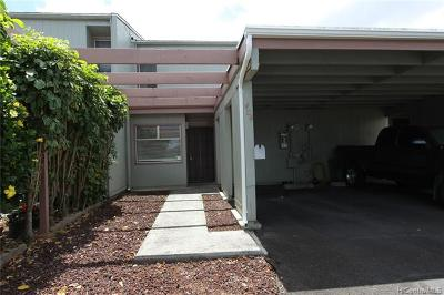 Mililani Condo/Townhouse For Sale: 95-128404 Kipapa Drive #404