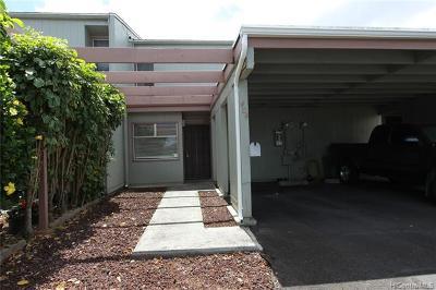 Mililani Condo/Townhouse For Sale: 94-128 Kipapa Drive #404