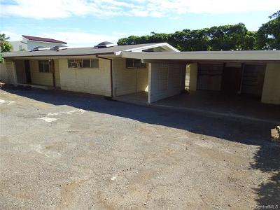 Single Family Home For Sale: 1206 Laukahi Street