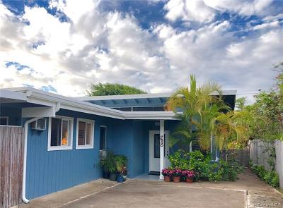 Kailua Single Family Home For Sale: 238 Hualani Street