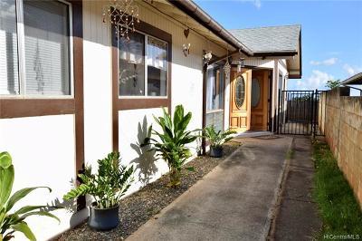 Waipahu Single Family Home For Sale: 94-729 Kaaka Street