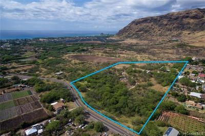 Waianae Residential Lots & Land For Sale: 85-908 Waianae Valley Road