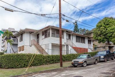 Honolulu Multi Family Home For Sale: 520 Magellan Avenue