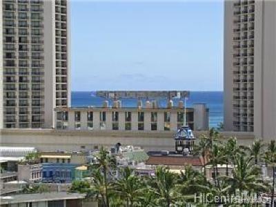 Honolulu County Condo/Townhouse For Sale: 444 Kanekapolei Street #1101