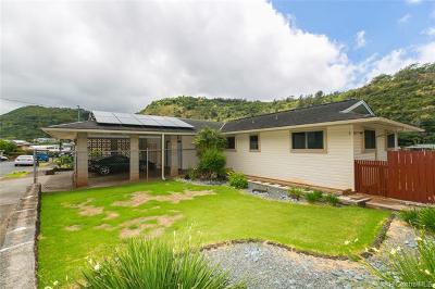 Honolulu Single Family Home For Sale: 1461 Ala Hekili Place